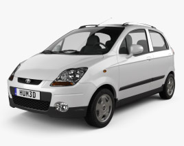 3D model of Daewoo Matiz M250 2011