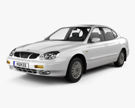 3D model of Daewoo Leganza (V100) 1997