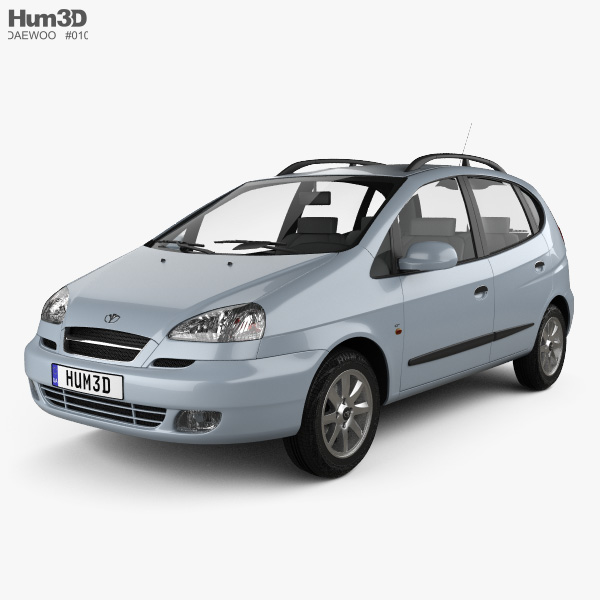 3D model of Daewoo Tacuma 2004