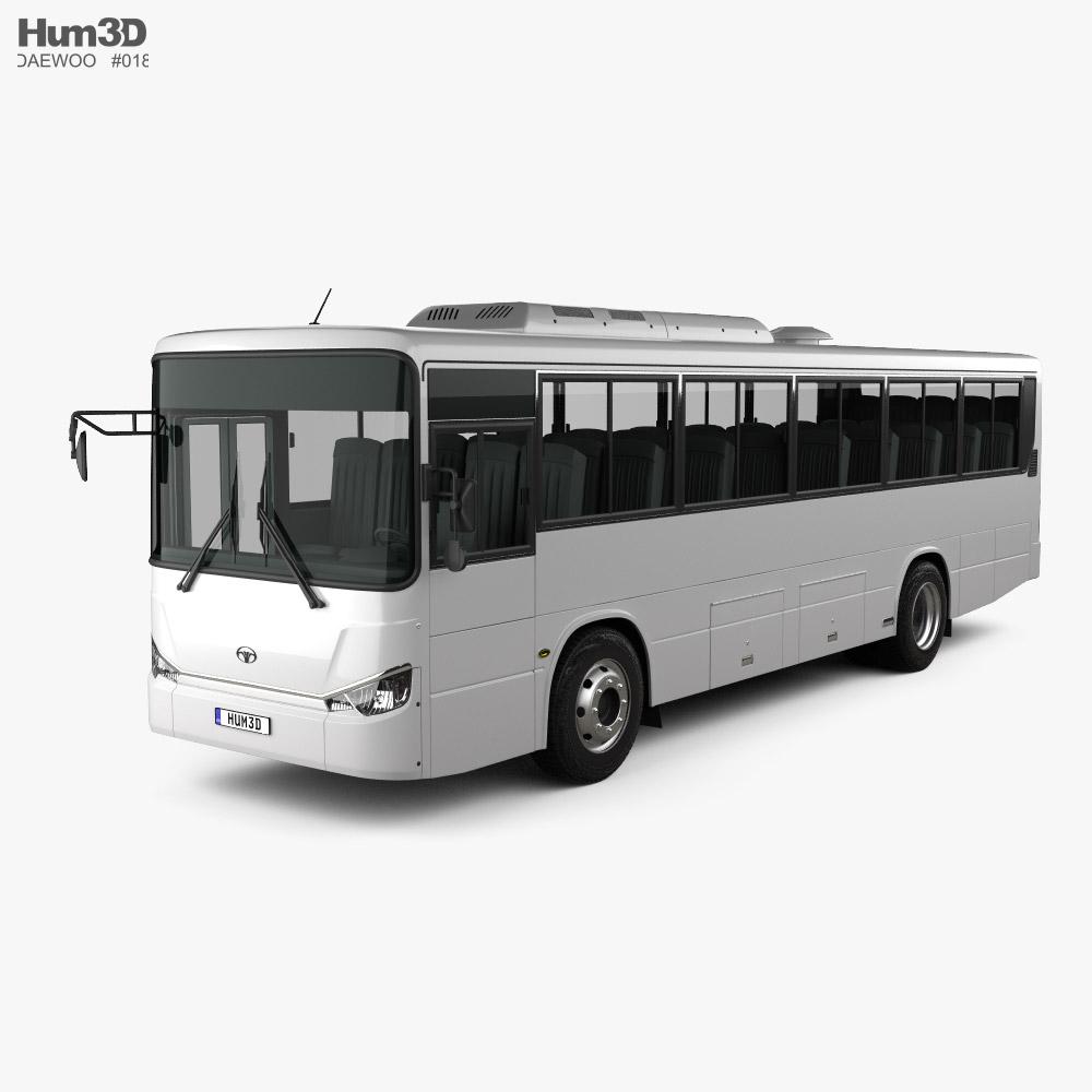 Daewoo BS106 Autocarro 2021 Modelo 3d