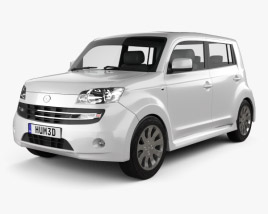 3D model of Daihatsu Materia 2010