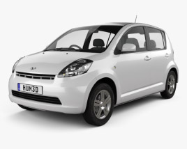 3D model of Daihatsu Sirion 2011
