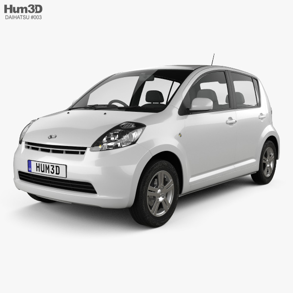Daihatsu Sirion 2011 3D model