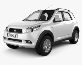 3D model of Daihatsu Terios 2009