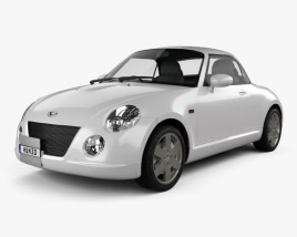 3D model of Daihatsu Copen 2011