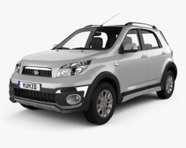 3D model of Daihatsu Terios 2013