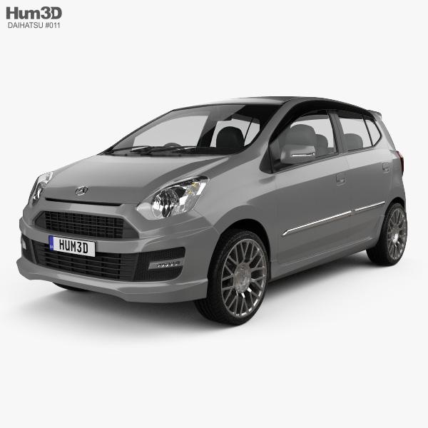 Daihatsu Astra Ayla Sporty 2013 3D model