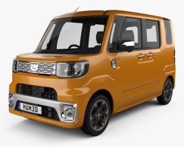 3D model of Daihatsu Wake 2015