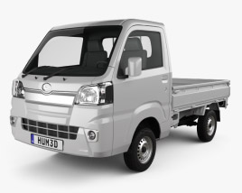 3D model of Daihatsu Hijet Truck 2014