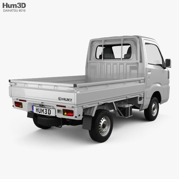 Daihatsu Hijet Truck 2014 3D model