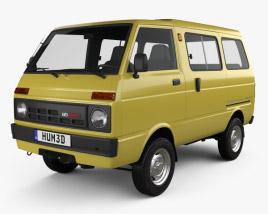 3D model of Daihatsu Hijet Tianjin TJ 110 1981