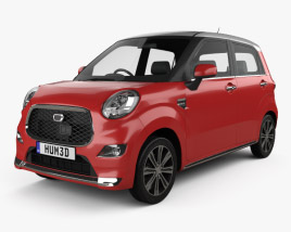 3D model of Daihatsu Cast Style 2015