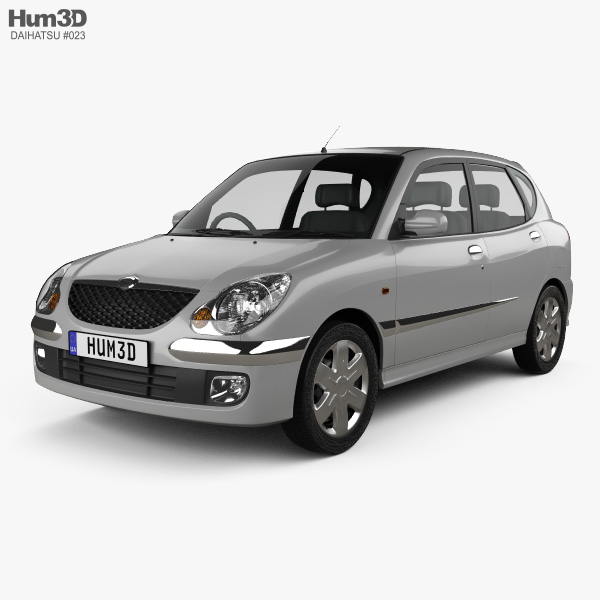 Daihatsu Sirion 2001 3D model