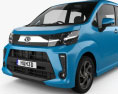 Daihatsu Move Custom RS 2017 3d model