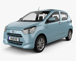3D model of Daihatsu Mira e:S 2017