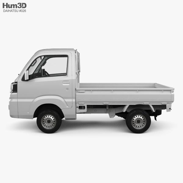 Daihatsu Hijet Truck with HQ interior 2014 3D model