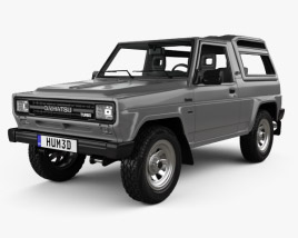 3D model of Daihatsu Rocky Wagon 1987