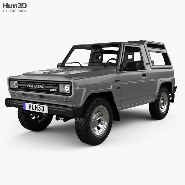 Daihatsu Rocky Wagon 1987 3D model