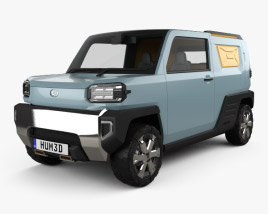 3D model of Daihatsu Waku Waku 2019