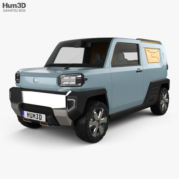 Daihatsu Waku Waku 2019 3D model