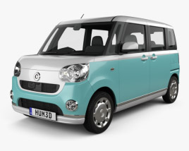 3D model of Daihatsu Move Canbus 2016