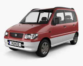 3D model of Daihatsu Move 1998