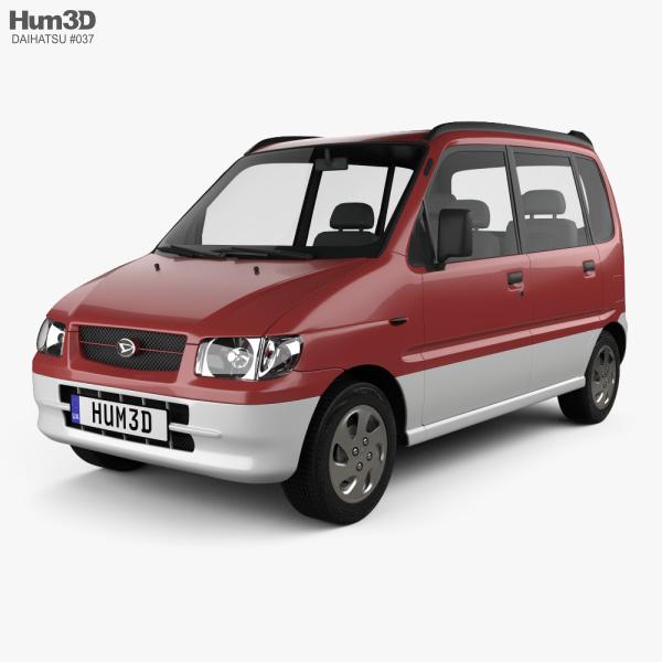 Daihatsu Move 1998 3D model