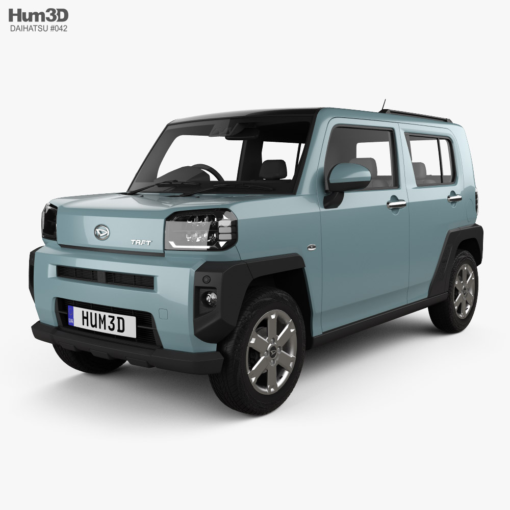 Daihatsu Taft 2020 3D model