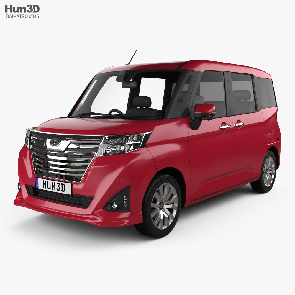 Daihatsu Thor Custom 2016 3D model