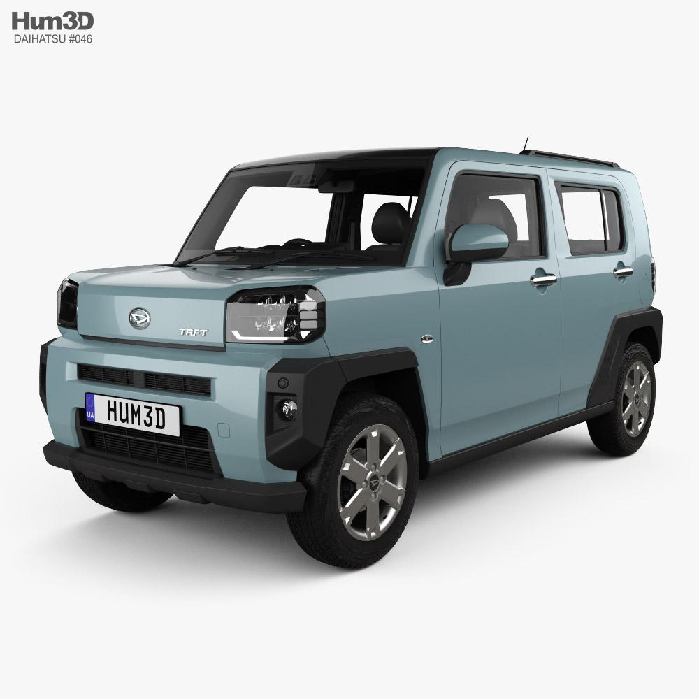 Daihatsu Taft with HQ interior 2020 3D model