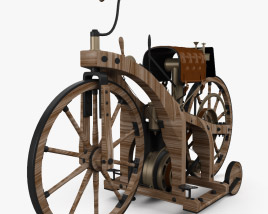 3D model of Daimler Reitwagen 1885