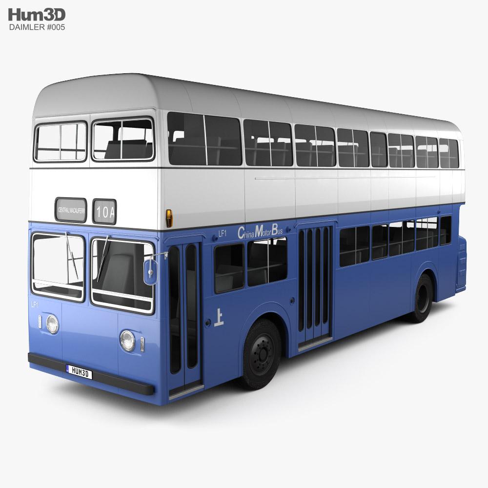 Daimler Fleetline CRG6 Bus 1965 3D model