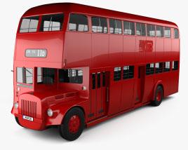 Daimler E Double-Decker Bus 1965 Modelo 3D