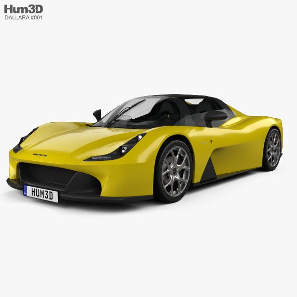 Dallara Stradale 2018 3D model