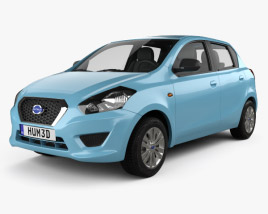 3D model of Datsun GO 2014