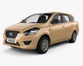 3D model of Datsun GO plus 2014