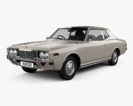 3D model of Datsun 260C coupe 1976