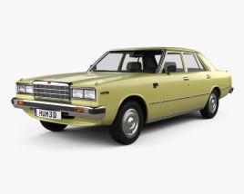 3D model of Datsun 200L 1977