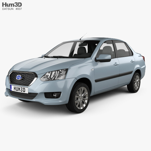 Datsun on-Do 2014 3D model