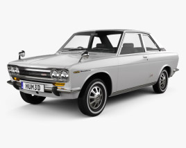 Datsun Bluebird 1600 SSS Coupe 1968 3D model