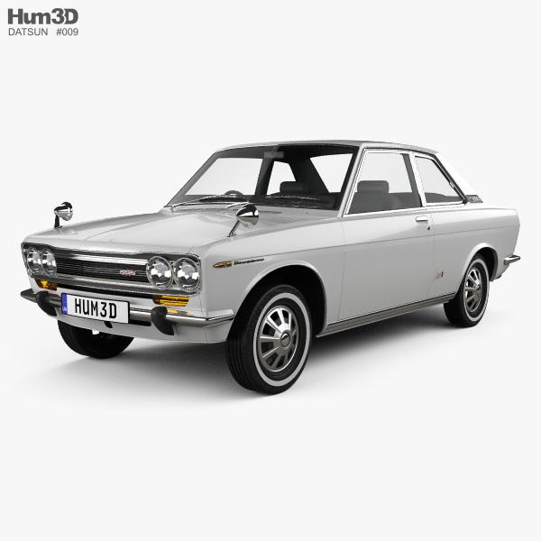 Datsun Bluebird 1600 SSS Coupe 1968 3D model