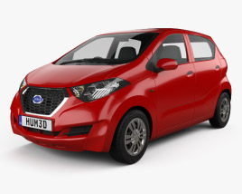 3D model of Datsun Redi GO 2016