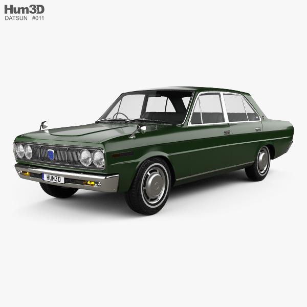 Datsun 2300 Super Six 1969 3D model