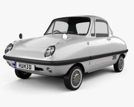 3D model of Datsun Baby 1964