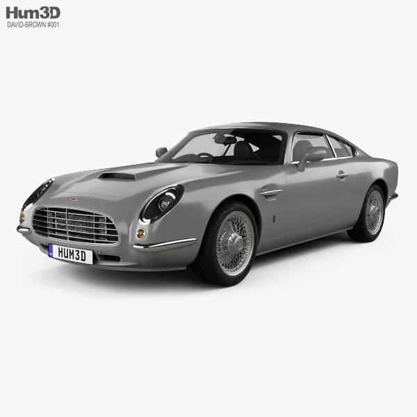 David Brown Speedback GT 2014 3D model