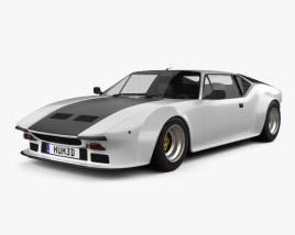 3D model of De Tomaso Pantera GT5 1980