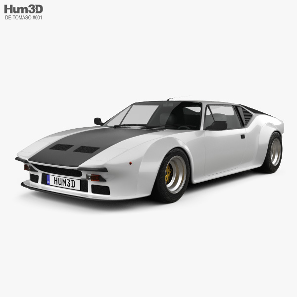De Tomaso Pantera GT5 1980 3D model