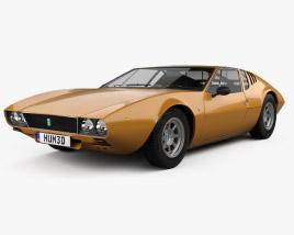 De Tomaso Mangusta 1967 3D model
