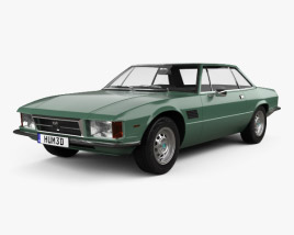 3D model of De Tomaso Longchamp 1980