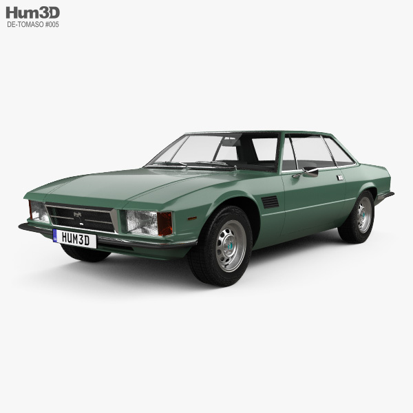 De Tomaso Longchamp 1980 3D model
